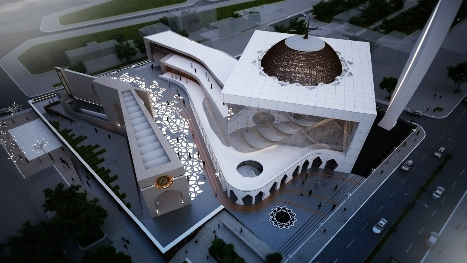 X-plan Studio: COMPETITION -CENTRAL MOSQUE OF PRISHTINA