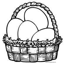 planse de colorat cu oua de paste
