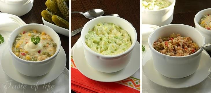 na slici iznad su posne salate recepte možete naći na