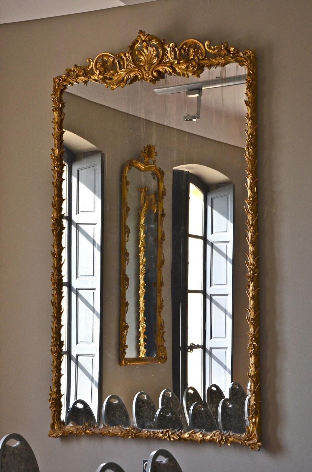 Ephemere la villa brignac est une magnifique for Miroir grande demeure