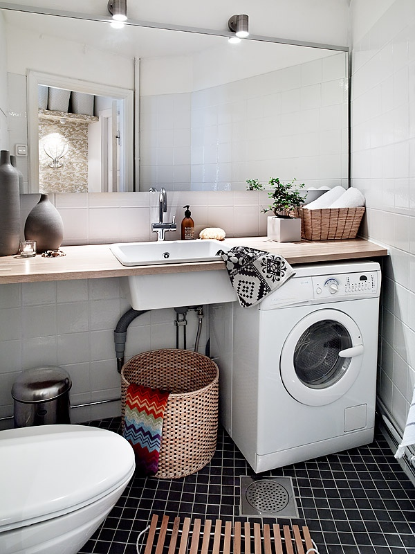 Baño Turco Arquitectura:Small Laundry Room Ideas 5 X 9