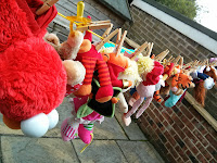 toys out to dry