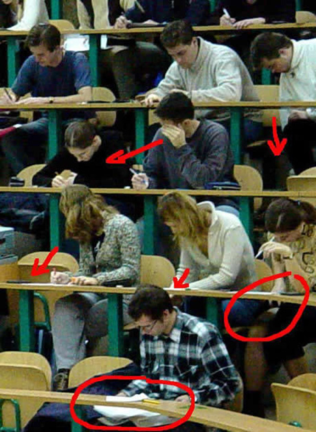 why students cheat Why students cheat 6 everyone's doing it 5 pressure to do well 4 the  teacher doesn't care, so why should i 3 didn't have enough time 2 laziness 1.