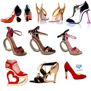 Conheça os tipos de calçados com Salto Geométrico