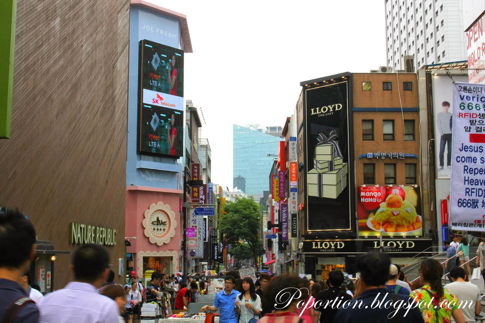 where to go in korea