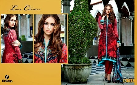 Firdous Digital Printed Linen