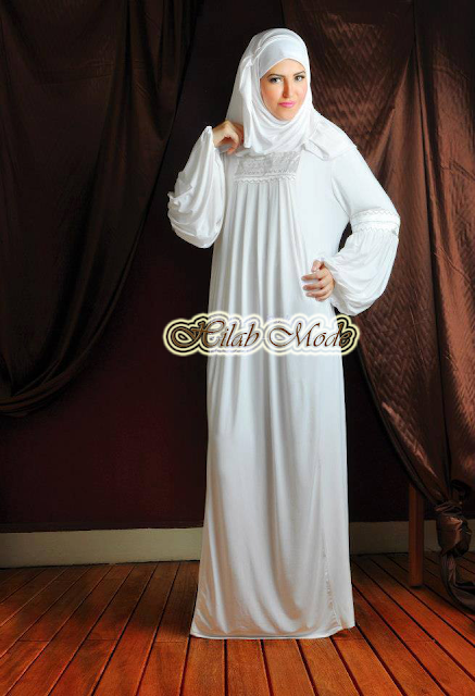Hijab blanc