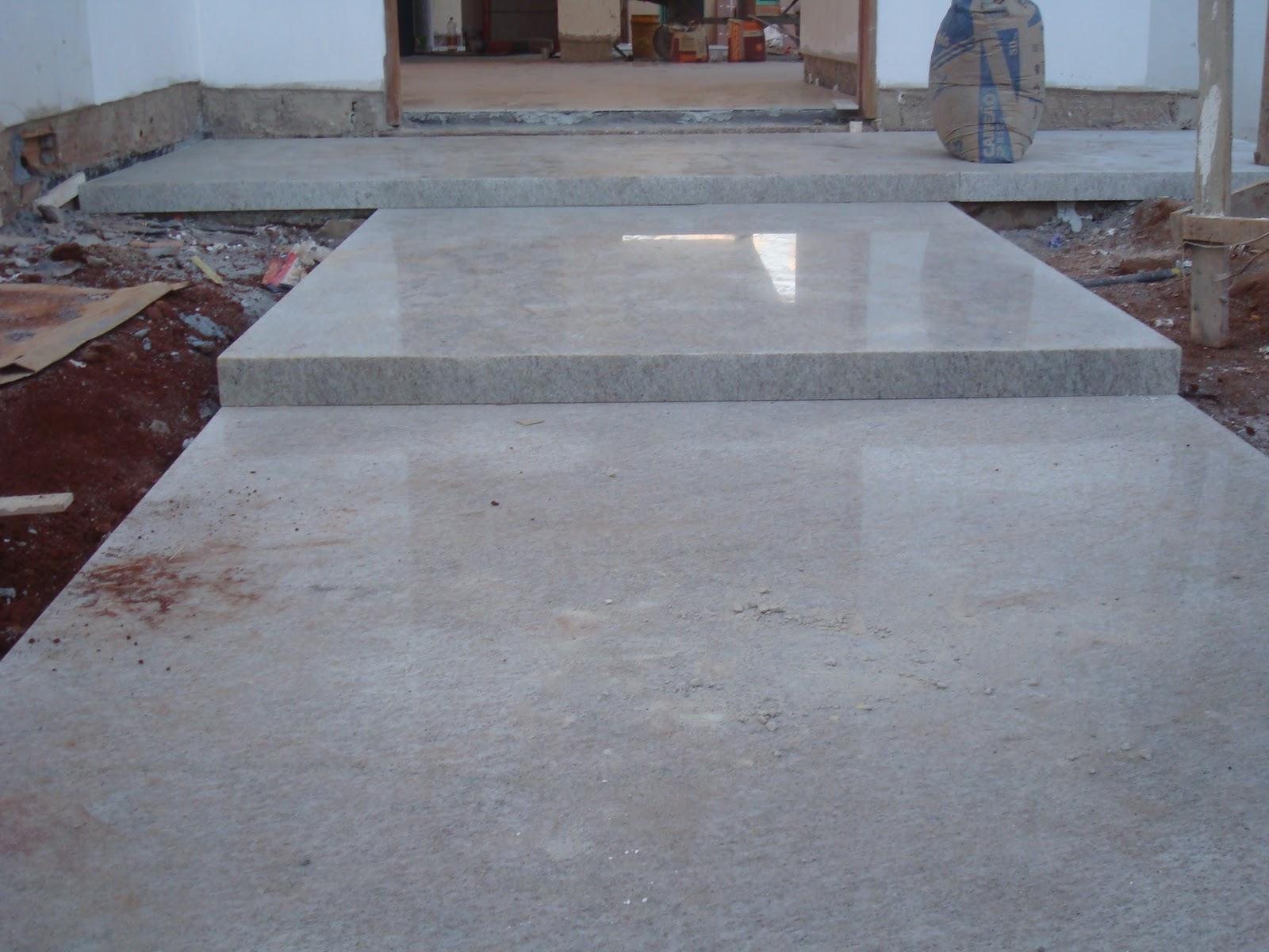 Construindo um castelinho piso de granito for Pisos de granito