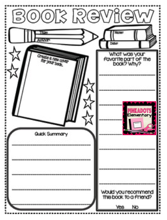 https://www.teacherspayteachers.com/Product/Book-Review-Activity-Hold-your-students-accountable-with-this-FREE-activity-1814083