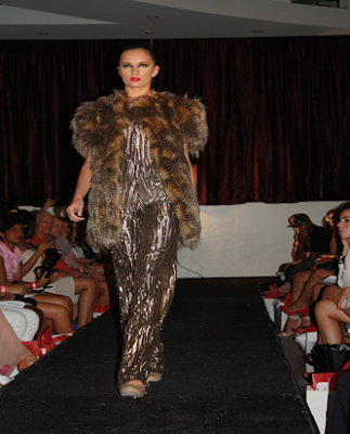 Runway for CZAR by Cesar Galindo SS14 Collection featured at Latinista Fashion Week in New York City