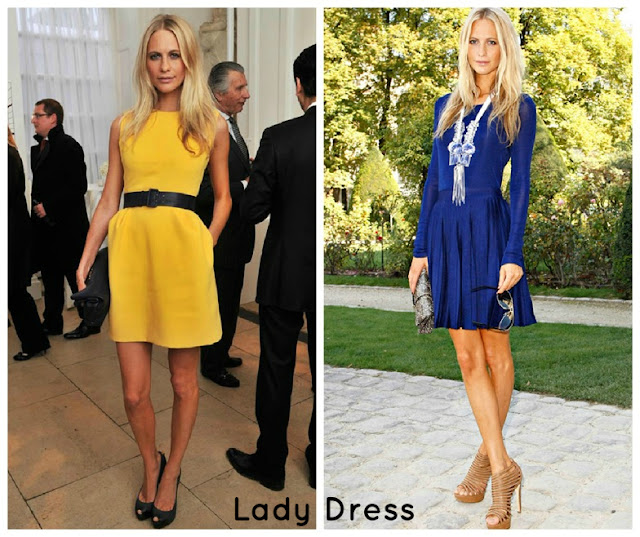 PoppyDelevingne Look LadyDress