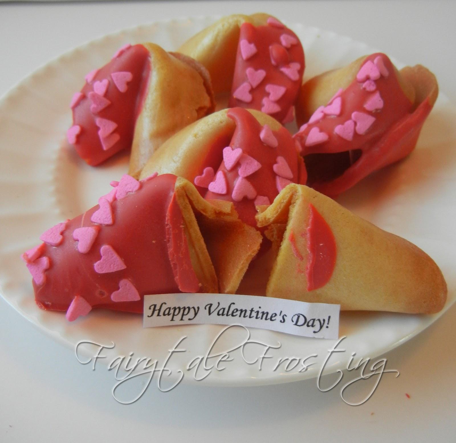 custom valentines day fortune cookies
