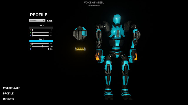 Voice of Steel Tech Demo