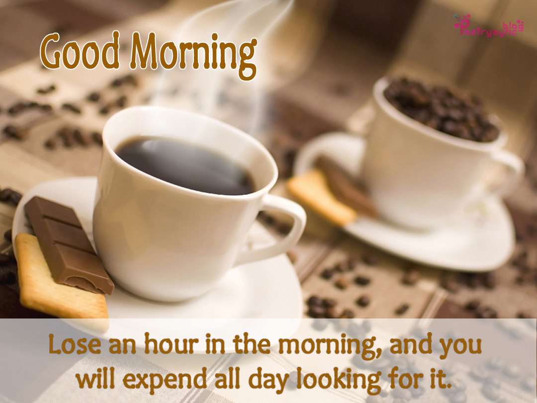 Sad And Love Peotry Beatiful Good Morning Wishes With Tea Cups