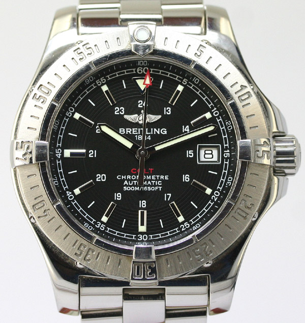 Breitling B13047 Automatic Stainless Steel Watch - Replica ...