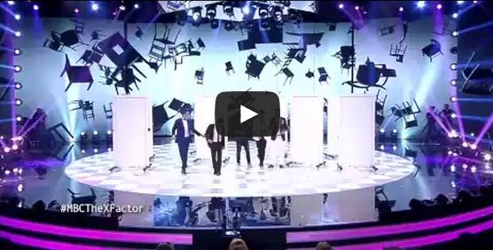 أغنية سعد المجرد '' المعلم '' على مسرح إكس فاكتور تدهش الجمهور !