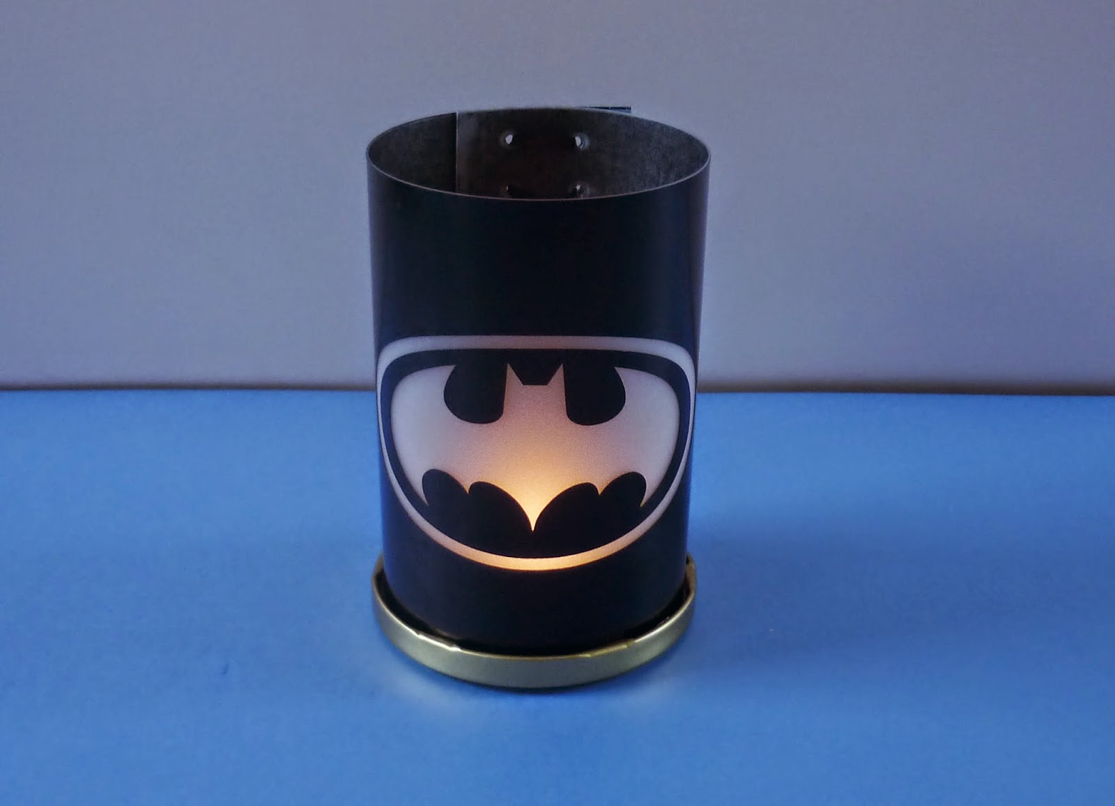 Minimandy. Batman. Souvenir. Linterna. Fanal. Centro de Mesa.
