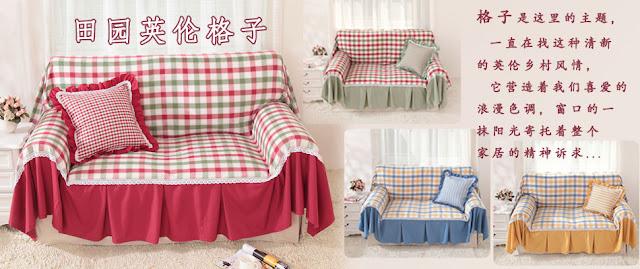 Creazioni con stoffa un divano piu bello e protetto - Divano fai da te ...