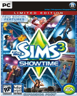The Sims 3 Showtime Games PC