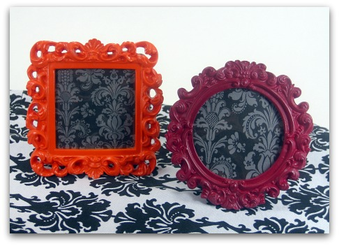 get your tush over to michaels for these super cute little vintage fab 3x3inch frames they can be found in the dollar bins of the store