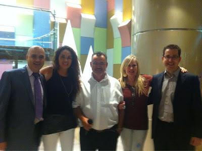 Workshop Neuromarketing, Francesc Luna, Paila A. Sanhueza, Antonio Casals Mimbrero, Esmeralda Diaz-Aroca y Jordi Cabezas