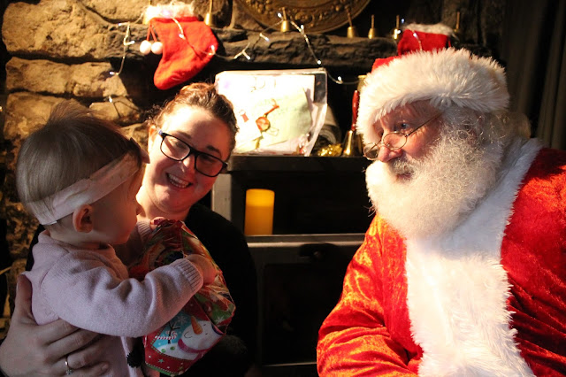 Santa at Blaenavon's Heritage Railway