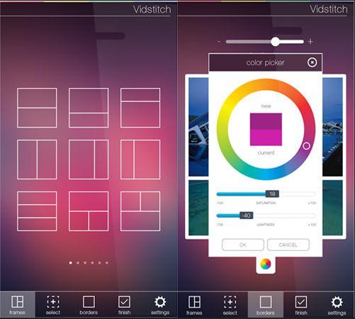 Aplikasi edit video android -  vidstitch