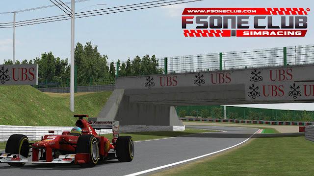 rFactor F1 2012 FSONE CLUB 2