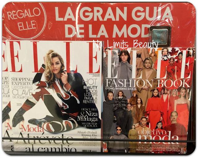 Regalos revistas septiembre 2015: Elle