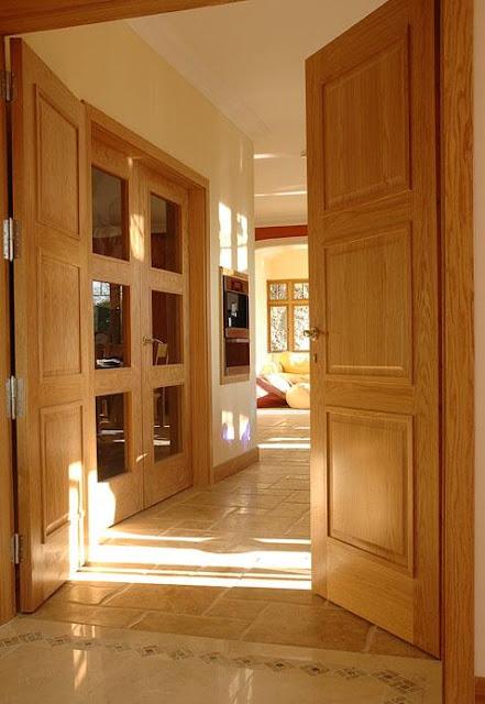Pre-hung door set