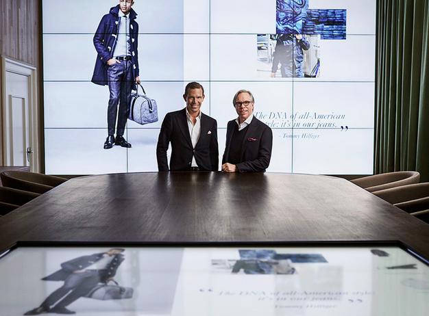 Tommy Hilfiger e lo showroom digitale