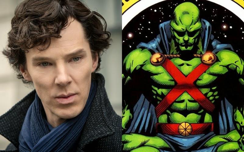 DC superhero Benedict Cumberbatch casting
