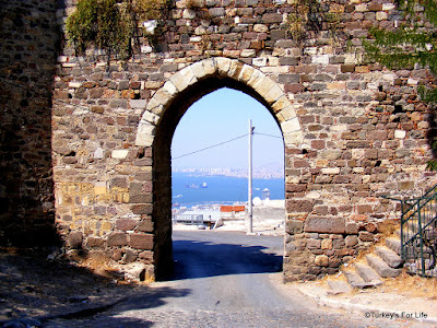 Entrance Gate To Kadifekale, Izmir