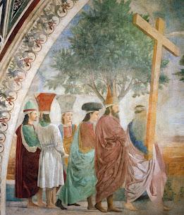 Exaltation of the Holy Cross – Piero della Francesca at Arezzo