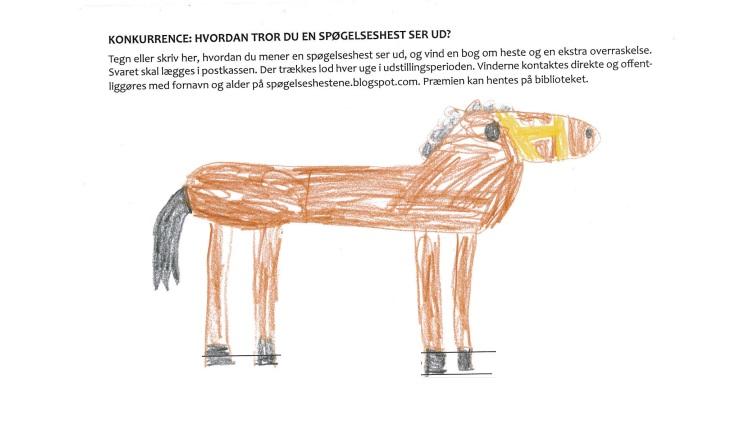 tegn en hest