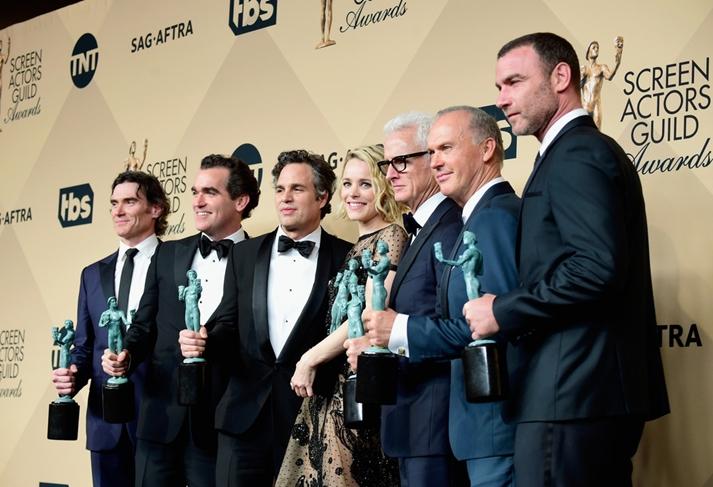 Spotlight, el mejor reparto del año en los SAG Awards