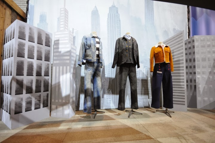 Levi's vintage clothing, pop up store, bread & butter 2014 winter