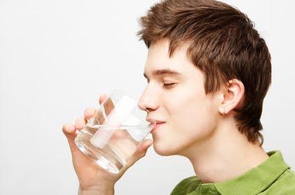 Drinking Salt And Potasium Water