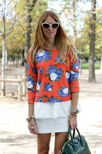 %C3%87i%C3%A7ek desenli elbise modelleri 2013 11 2013 Çiçekli elbise modelleri
