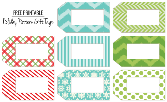 Free Gift Tags for New Year holiday — Crafthubs