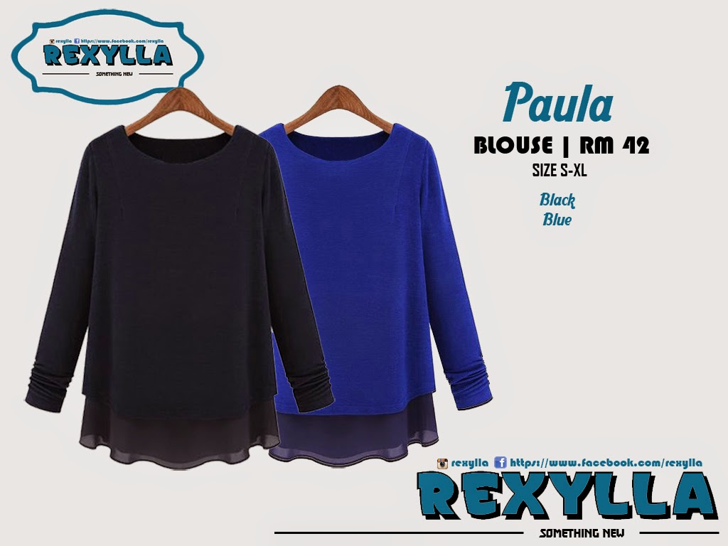 rexylla, blouse, paula collection