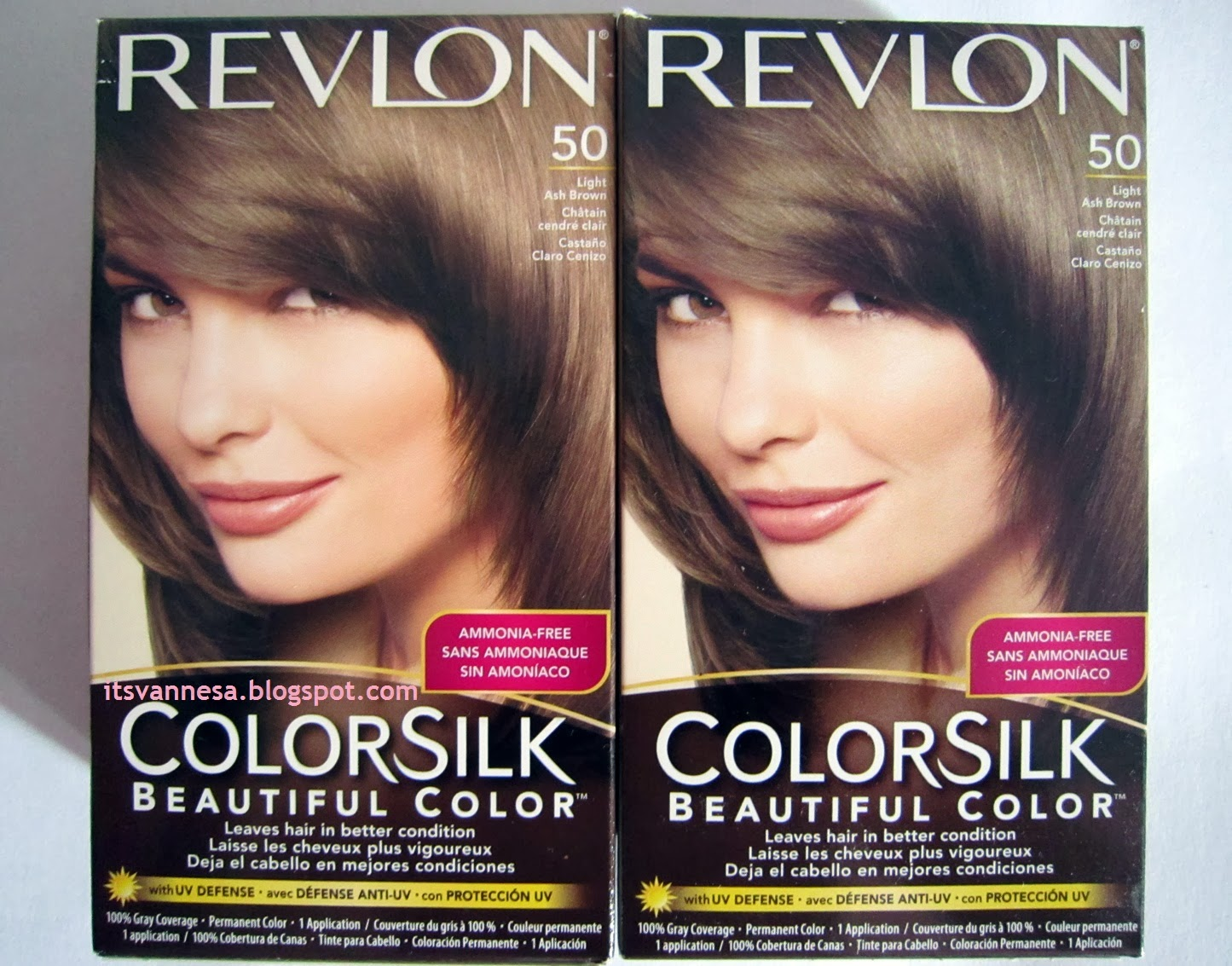 Vanne San Pedro : Coloring my Hair (Revlon Colorsilk Beautiful ...