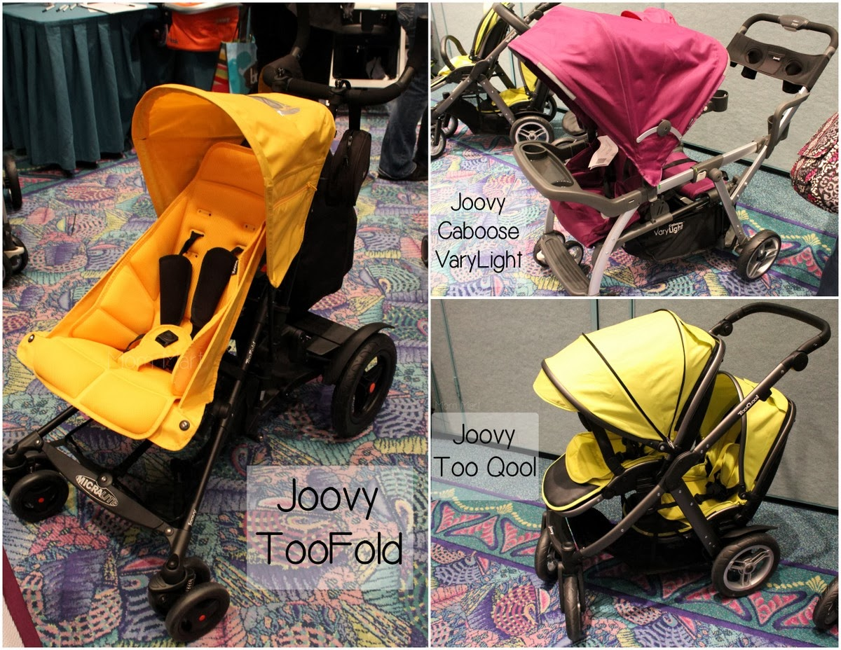 2014 Joovy TooFold, Too Qool, Vary Light Strollers at #MommyCon #MommyConChicago