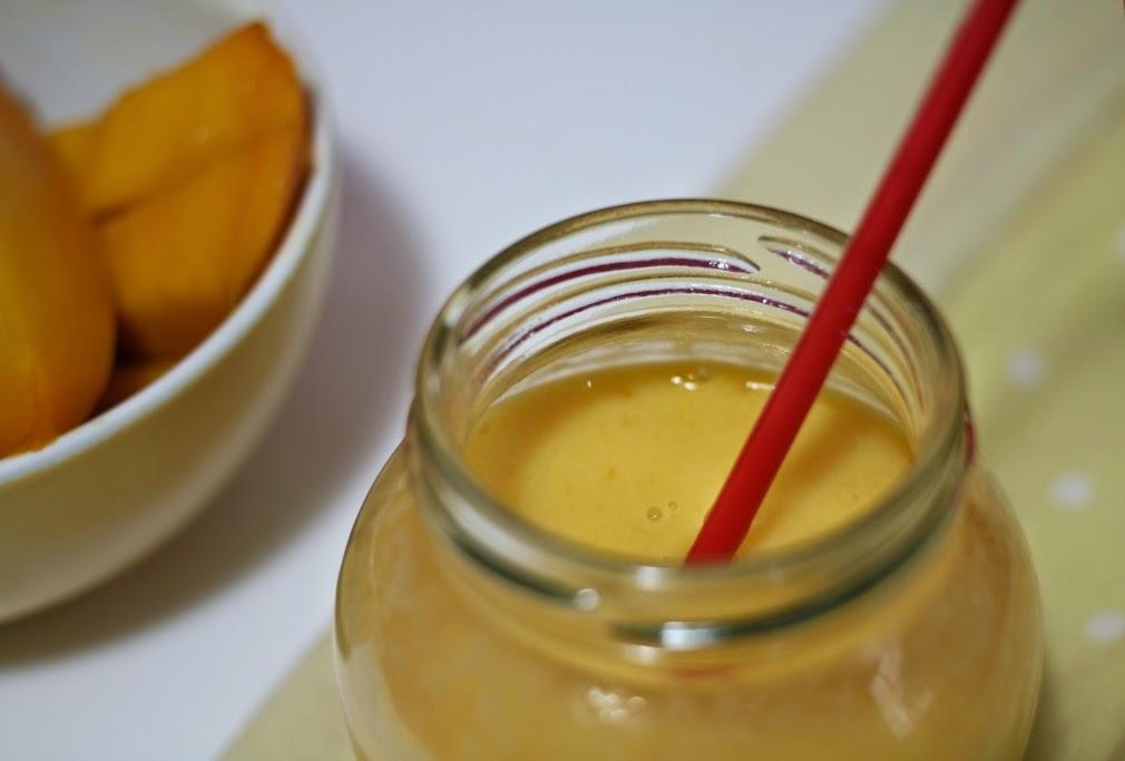 Batido de mango - El dulce mundo de Nerea