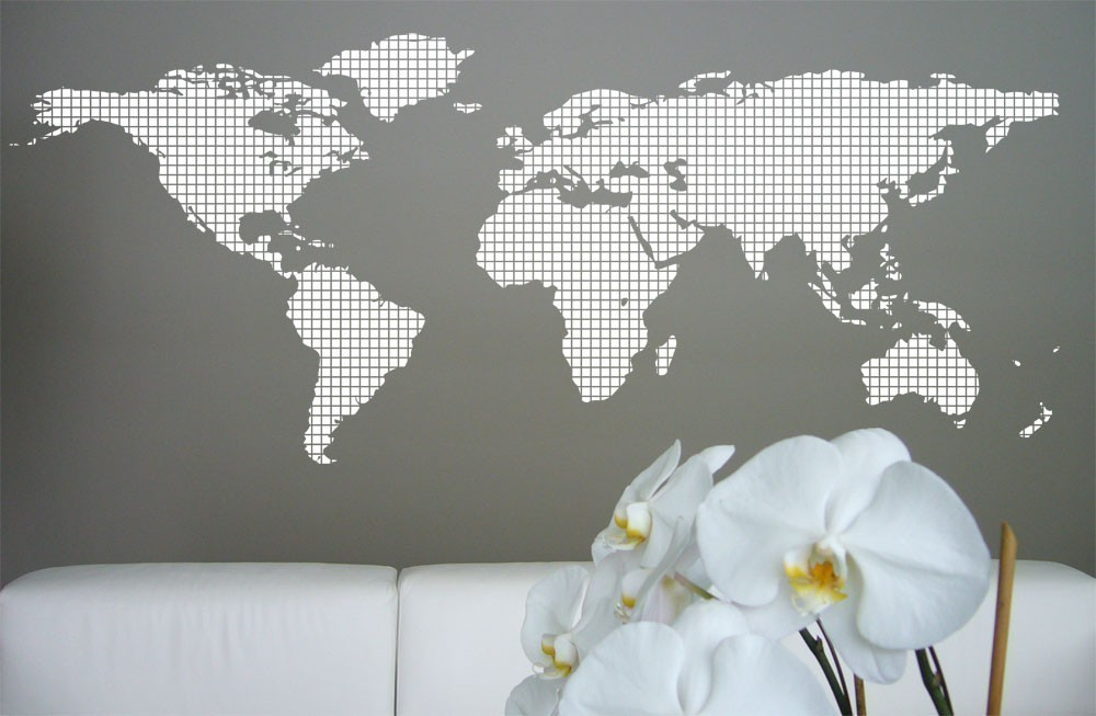 Diy plywood world map knock it off east coast creative blog gumiabroncs Gallery