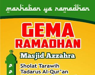 Desain Backdrop Acara Ramadhan format coreldraw 2