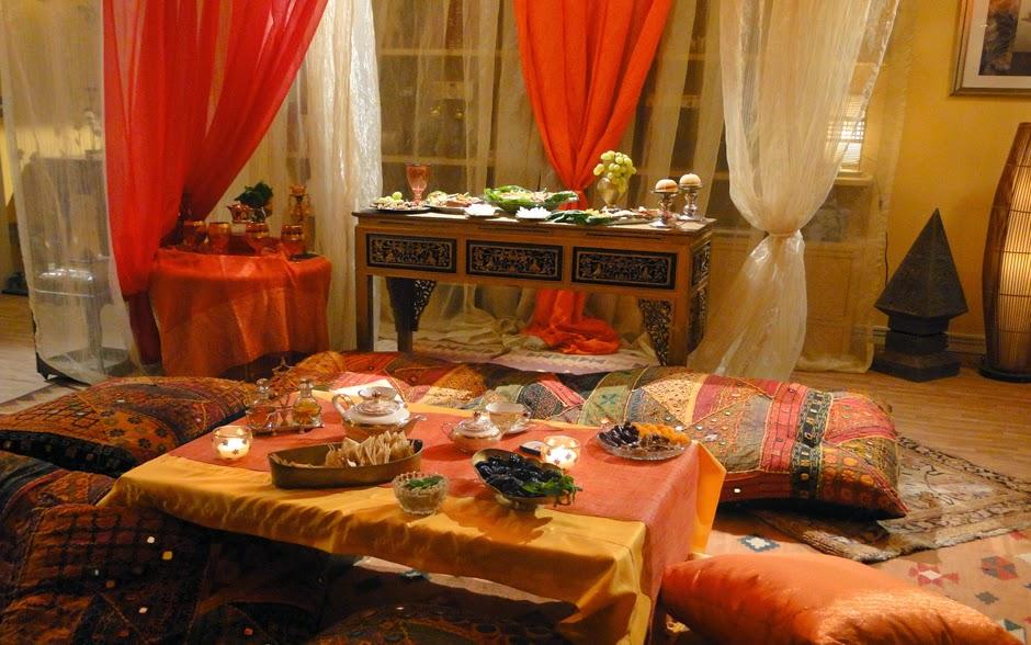 La magie jantar rabe for Sala de estar estilo arabe