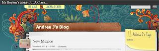 Andrea's Blog Post