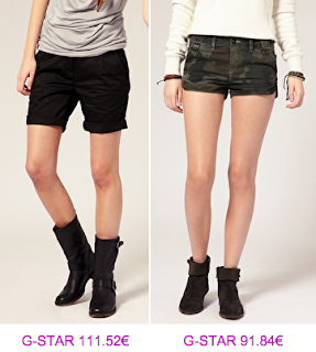 G-Star Raw bermudas