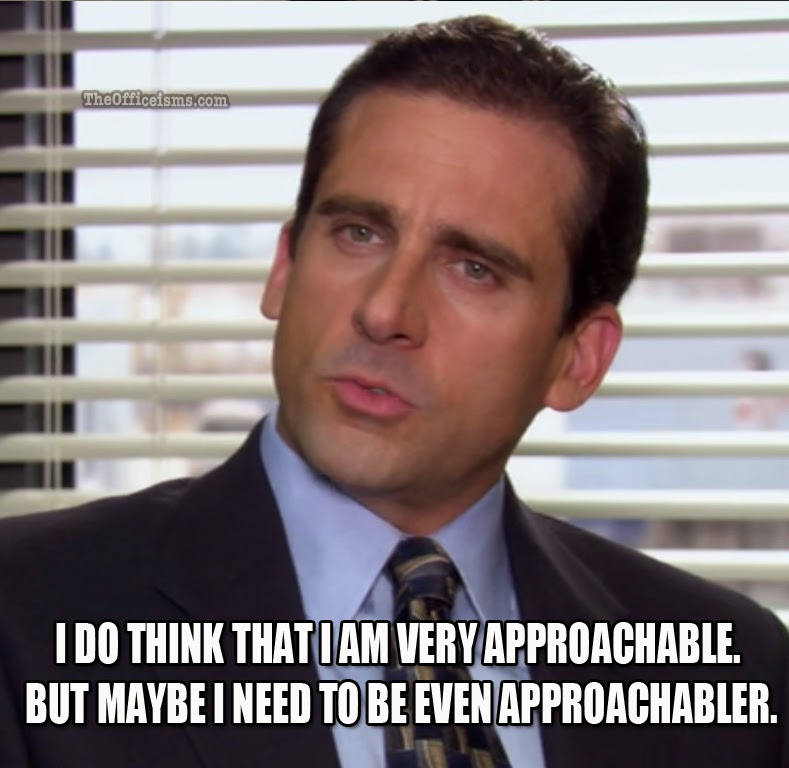 the office memes michael scott and toby